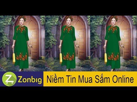 [Zonbig.com] – Set Áo Dài Cách Tân An Khang
