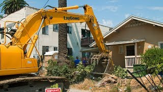 Catalpa Excavation Demolition Series: #001 Rosewood Ave, Los Angeles, CA