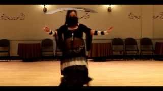 Double Sword Solo - Twilight at the Oasis Audition 2014 Nicole Marie Whitney