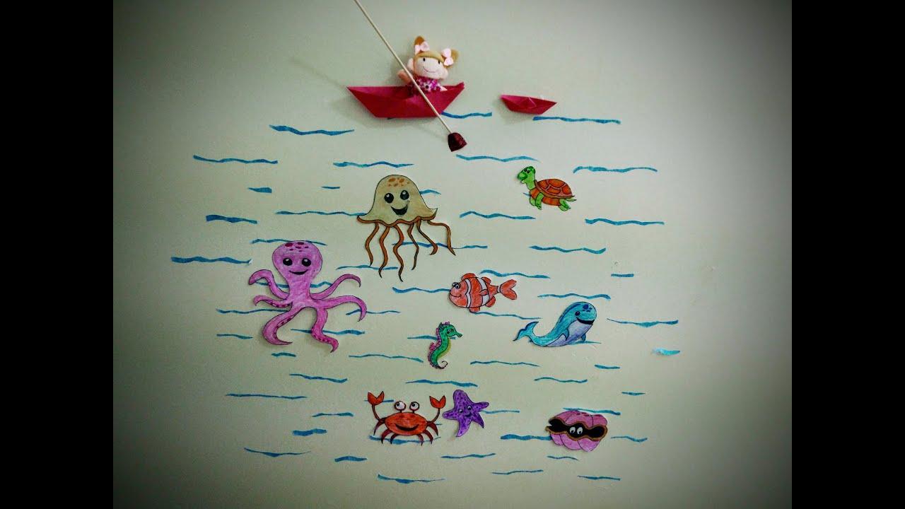 Kids Crafts - Sea Animals - YouTube - photo#24