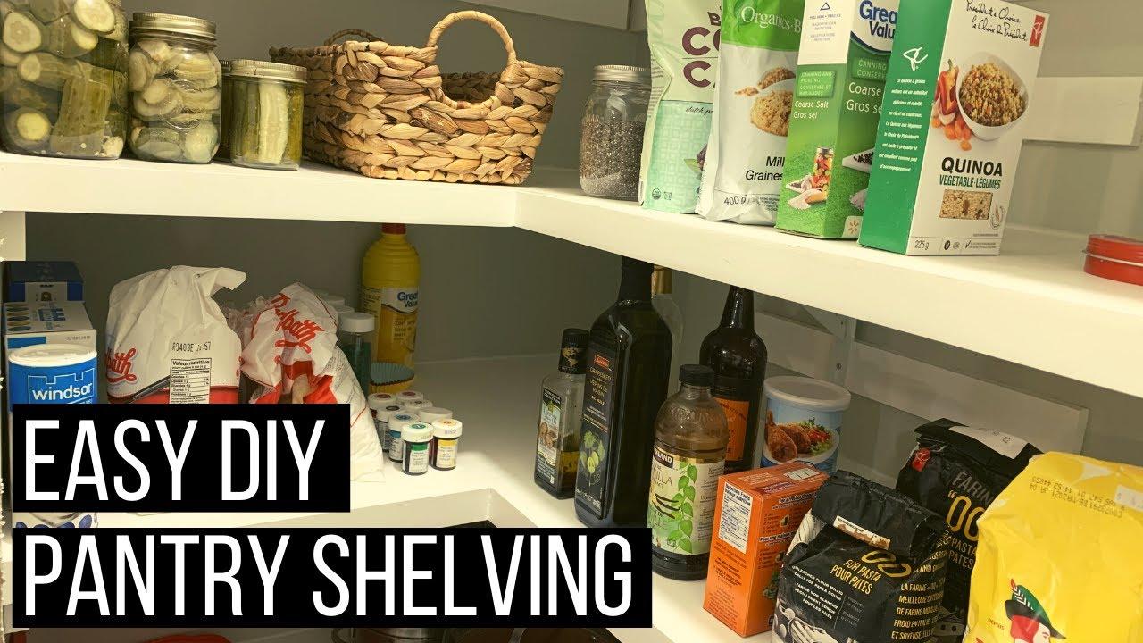Download Easy DIY Pantry Shelves