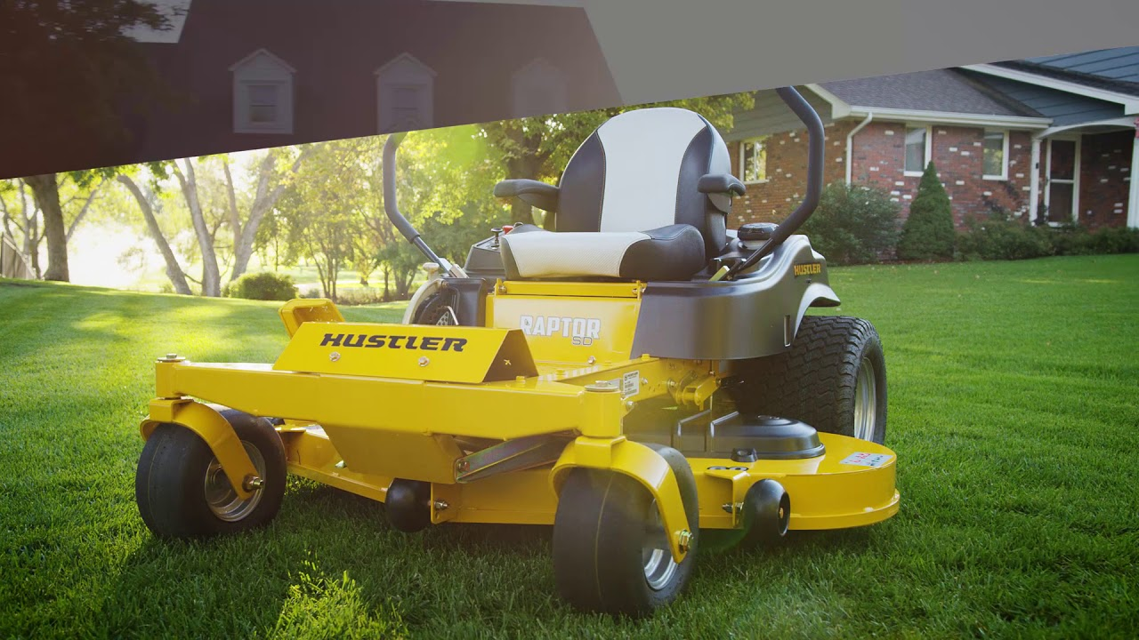 2018 Hustler Turf Equipment Raptor® SD 54