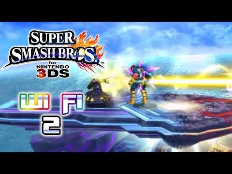 Super Smash Bros 3DS Wi-Fi Battle # 2 [Censura]