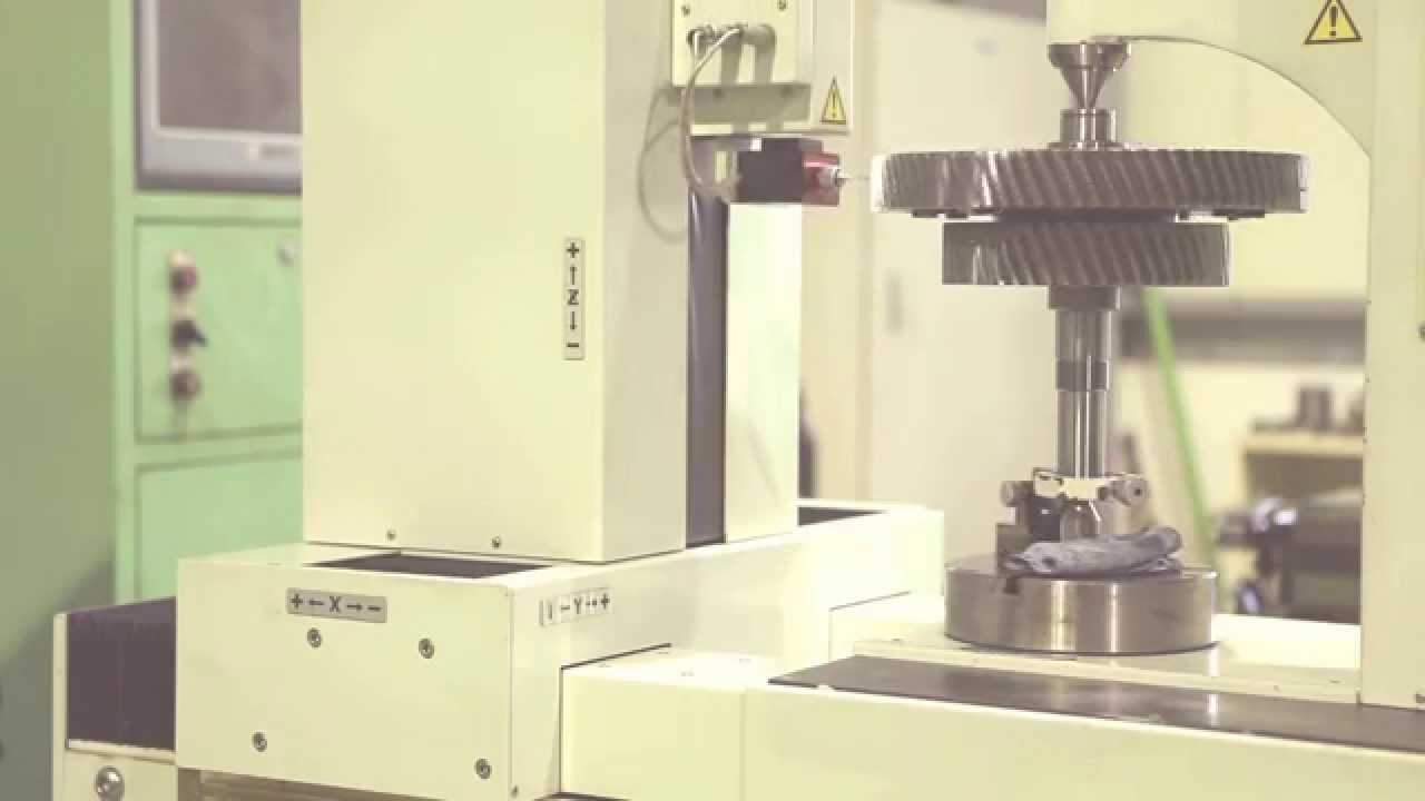 CNC GEAR TESTER TTi 450E - YouTube