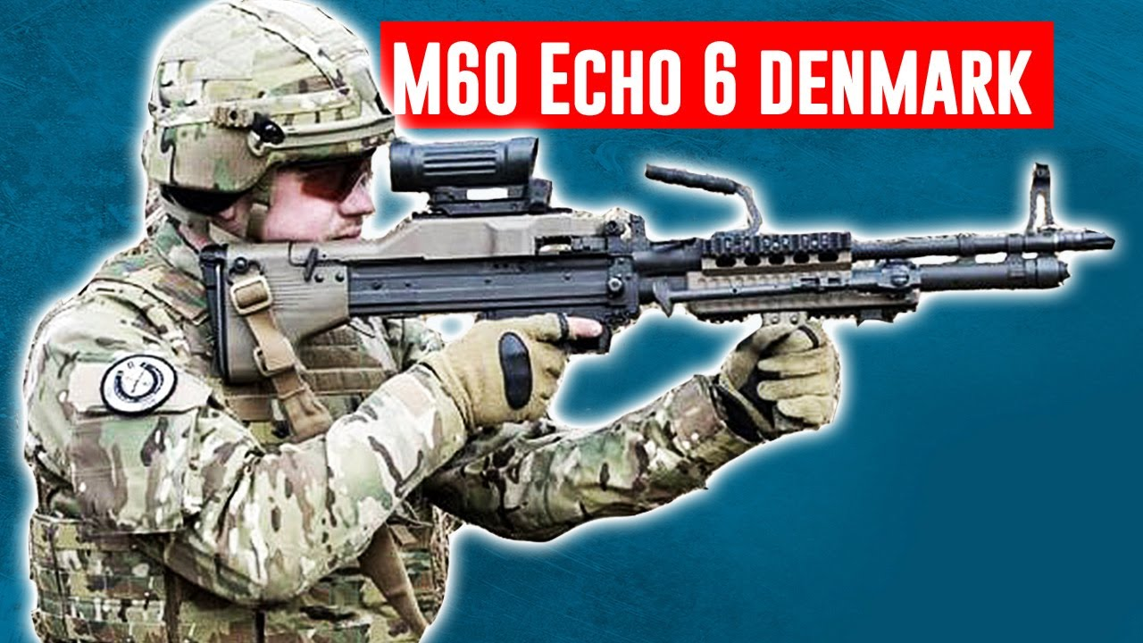 The M60 Echo 6 machine gun is so hot right now