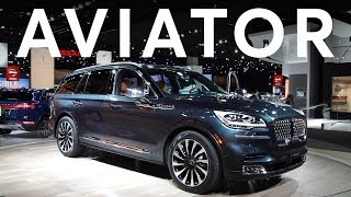 2019 Detroit Auto Show: 2020 Lincoln Aviator | Consumer Reports