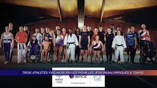 Yvelines | Trois athlètes yvelinois en lice pour les Jeux paralympiques à Tokyo
