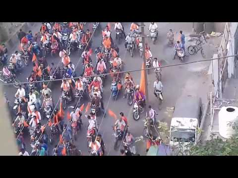 BIGGEST BAJRANG DAL RALLY            [JAI SRI RAM]