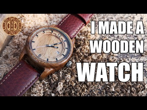Turning 30+ Year Old Board Into Wooden Watch