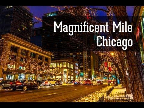 Город Чикаго. Magnificent Mile Chicago / Великолепная миля Чикаго