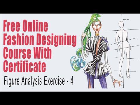 Fashion Illustration Ten Head Croquis Figure Analysis Free Online Fashion Design Course Croquis Youtube