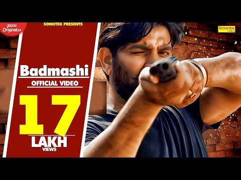 Badmashi | Sandeep Surila | Aman Kaushik | Latest Haryanvi Songs Haryanavi 2019 | Sonotek