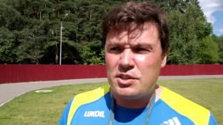 Тренер по лыжным гонкам Евгений Лопухов