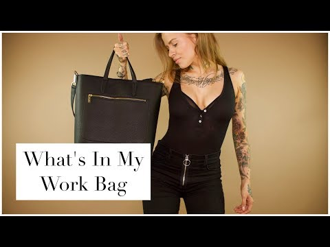 What's In My Bag? | Working Away From Home