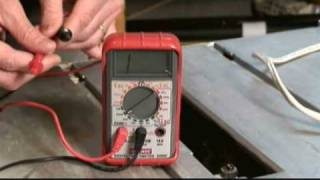 Electrical Circuit Testers Video(Mark Donovan of http://www.HomeAdditionPlus.com reviews a high voltage electrical circuit tester and a digital multimeter electrical circuit tester for use in home ..., 2008-12-10T03:09:31.000Z)