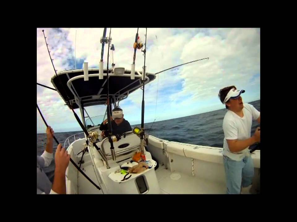 Surf city citation wahoo fishing video youtube for Surf city fishing report