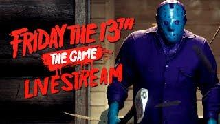 Friday the 13th The Game: Retro Jason Livestream