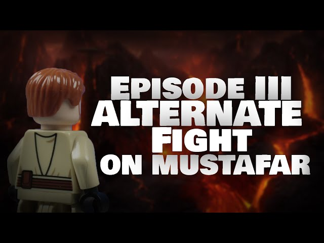 Alternate Fight on Mustafar made with LEGO® II Star Wars Fan-Film