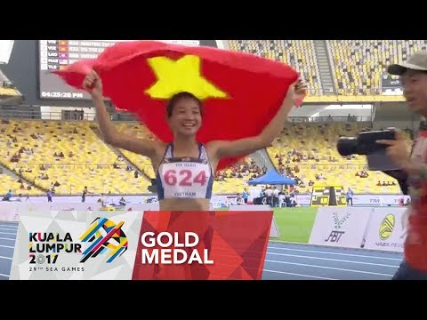 Athletics Women's 1,500m Finals | 29th SEA Games 2017
