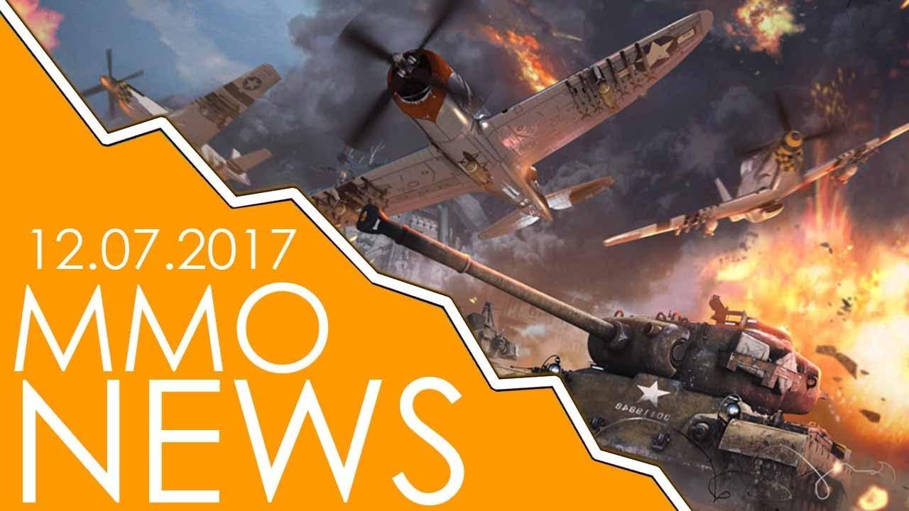 WOJNY ŚWIATOWE W WAR THUNDER oraz … – MMONews 12.07.2017