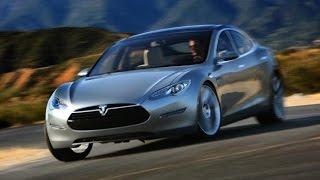 Электро автомобиль Тесла Тест драйв электромобиля Tesla Model S