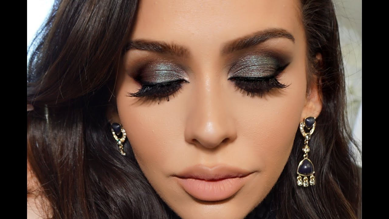 Blue Green Smoke Dramatic Fall Makeup Tutorial Youtube