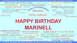 Marinell   Languages Idiomas - Happy Birthday