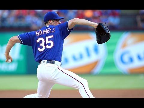Cole Hamels || Texas Rangers || Mid-Season Highlights ᴴᴰ