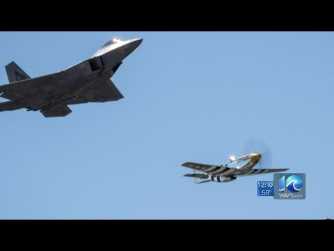 Air Force flyover honoring frontline workers in Virginia during COVID-19 pandemic