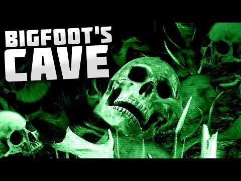 Finding Bigfoot - WE FOUND BIGFOOT'S CAVE!! - Finding Bigfoot Multiplayer Gameplay