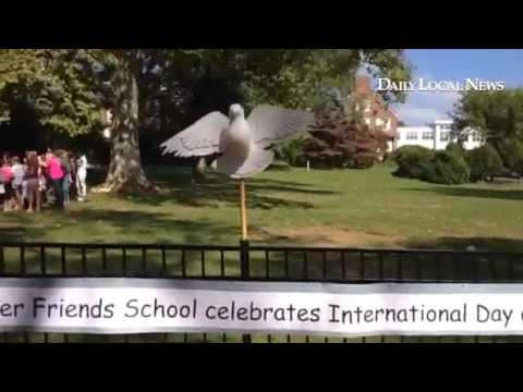 West Chester Friends School celebrates International Day of Peace.