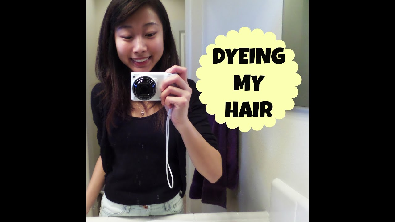 Garnier olia permanent hair colour golden brown 5 3 - Dyeing My Hair Garnier Olia Medium Golden Mahagony