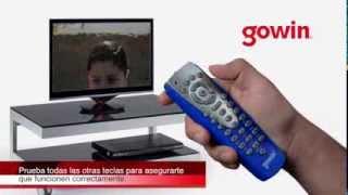 Como funciona el control remoto gowin