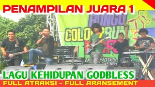 JUARA 1 _ FESTIVAL BAND COLOR RUN BUNGO _ Lagu KEHIDUPAN GODBLESS Full Atraksi + Full Aransement