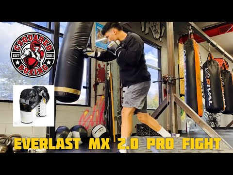 HEAVY BAG TRAINING- Everlast MX 2.0 Pro Fight Gloves
