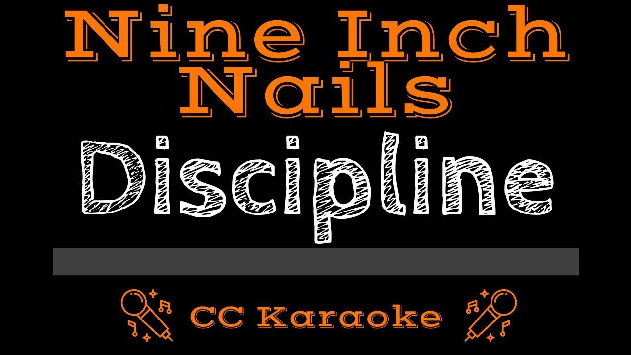 Nine Inch Nails Discipline CC Karaoke Instrumental - YouTube