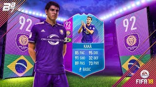 KAKA PREMIUM SBC UNLOCKED! END OF ERA 92 KAKA! | FIFA 18 ULTIMATE TEAM