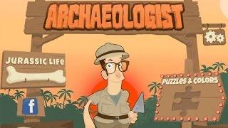 Археолог (Archaeologist) - Jurassic Life - игра про динозавров для детей 3-9 лет [iOS/Android]