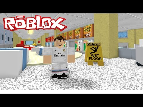 CAN RONALDO ESCAPE THE SUPERMARKET?? | Roblox Obby