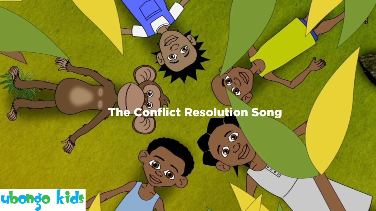 The Conflict Resolution Song | Ubongo Kids | From the kids of Africa to the World