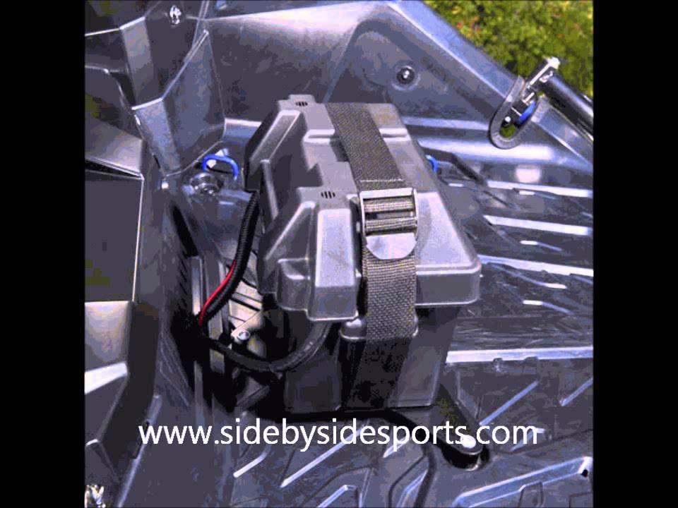Yamaha Yxz 1000r Second Auxillary Battery Kit Youtube