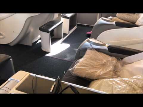BA1 A318 London City to New York JFK - All Club World business class