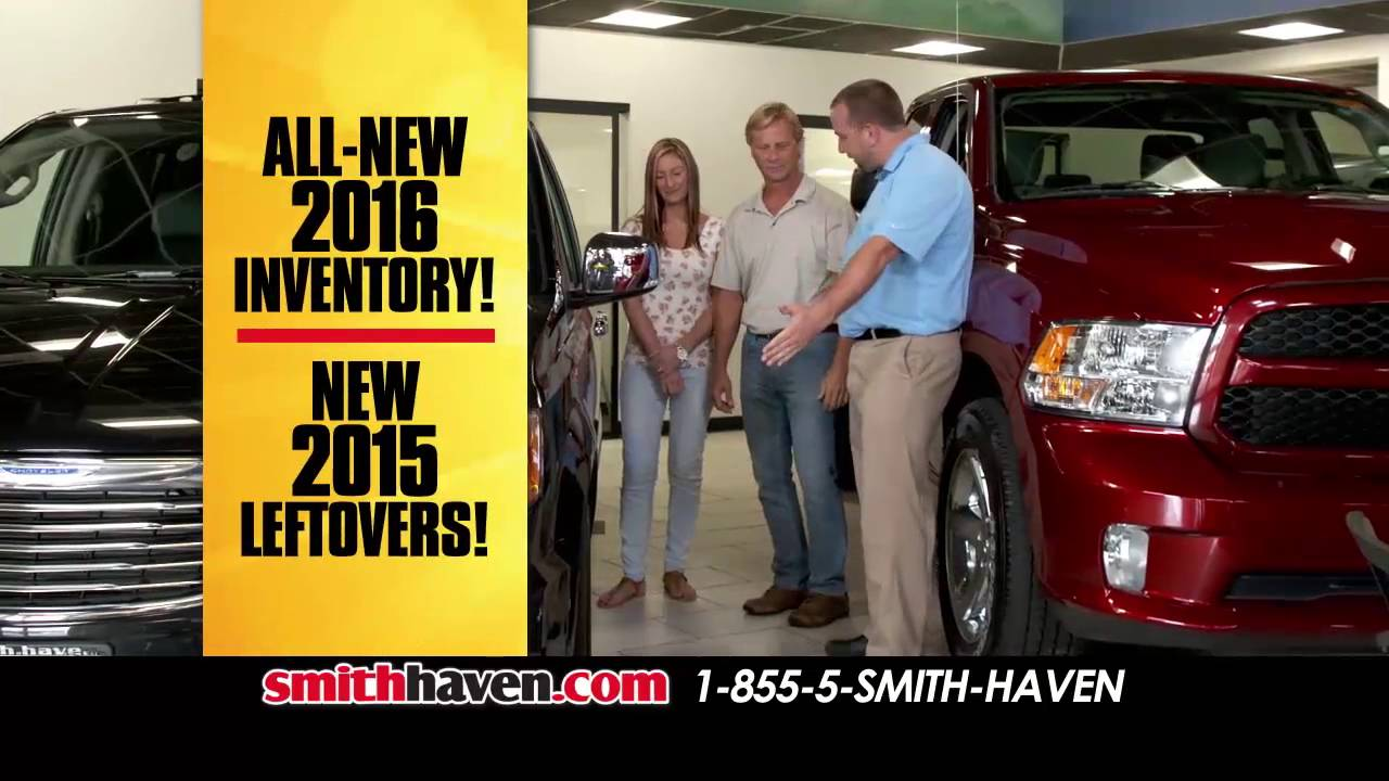 Smith Haven Dodge >> Smith Haven Chrysler Jeep Dodge Ram Youtube
