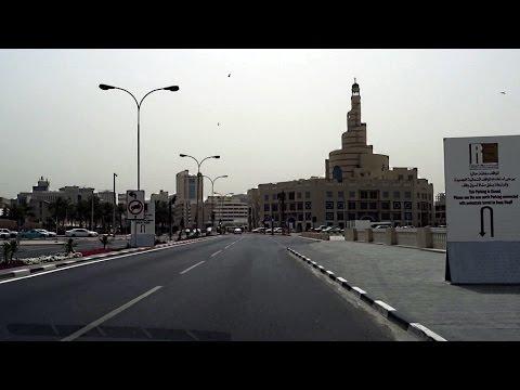 【南アフリカ横断】プロローグ1 カタール 車載動画 ダイジェスト