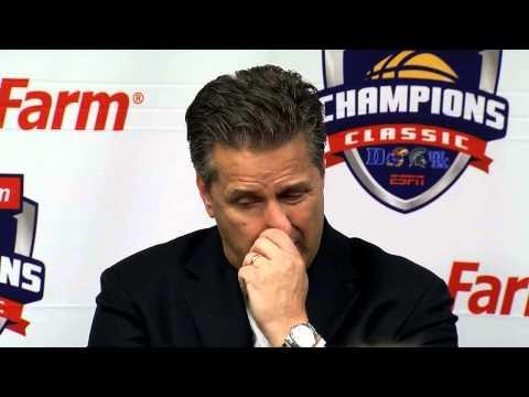WDRB Sports: John Calipari Michigan State post-game press conference