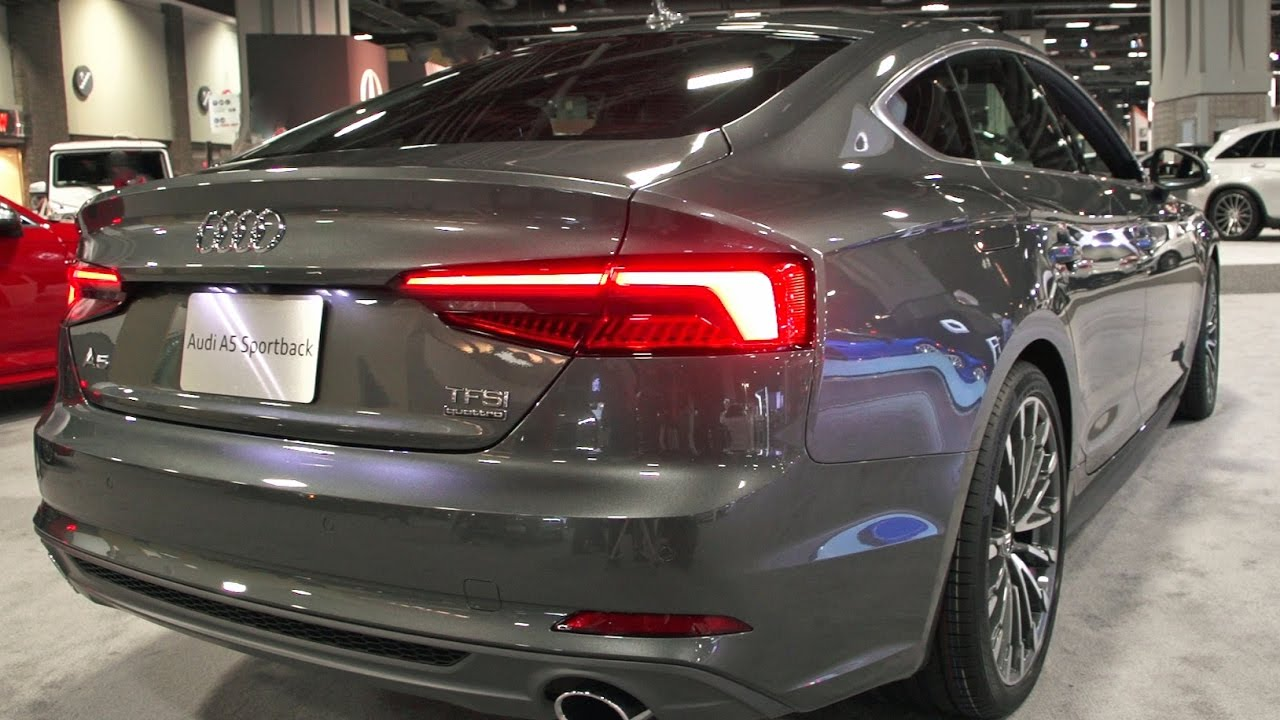 2018 Audi A5 Sportback Show Tell Youtube