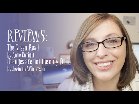 Book Reviews: The Green Road & Oranges are not the only fruit