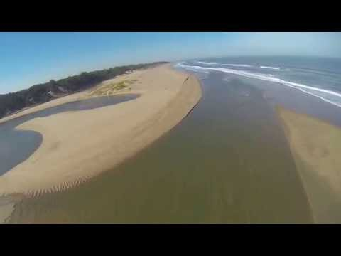 PPG Flight Mtunzini beach to Port Durnford Lighthouse