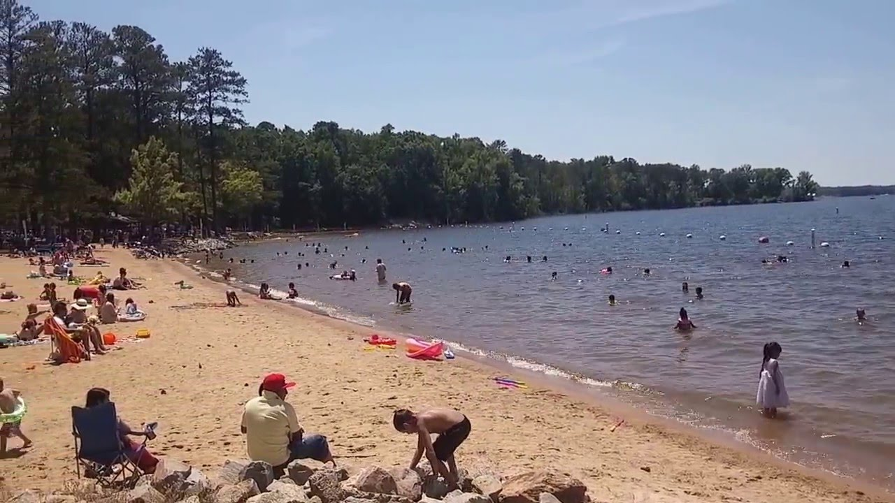 Lake Murray Beach Park Lexington South Carolina Youtube