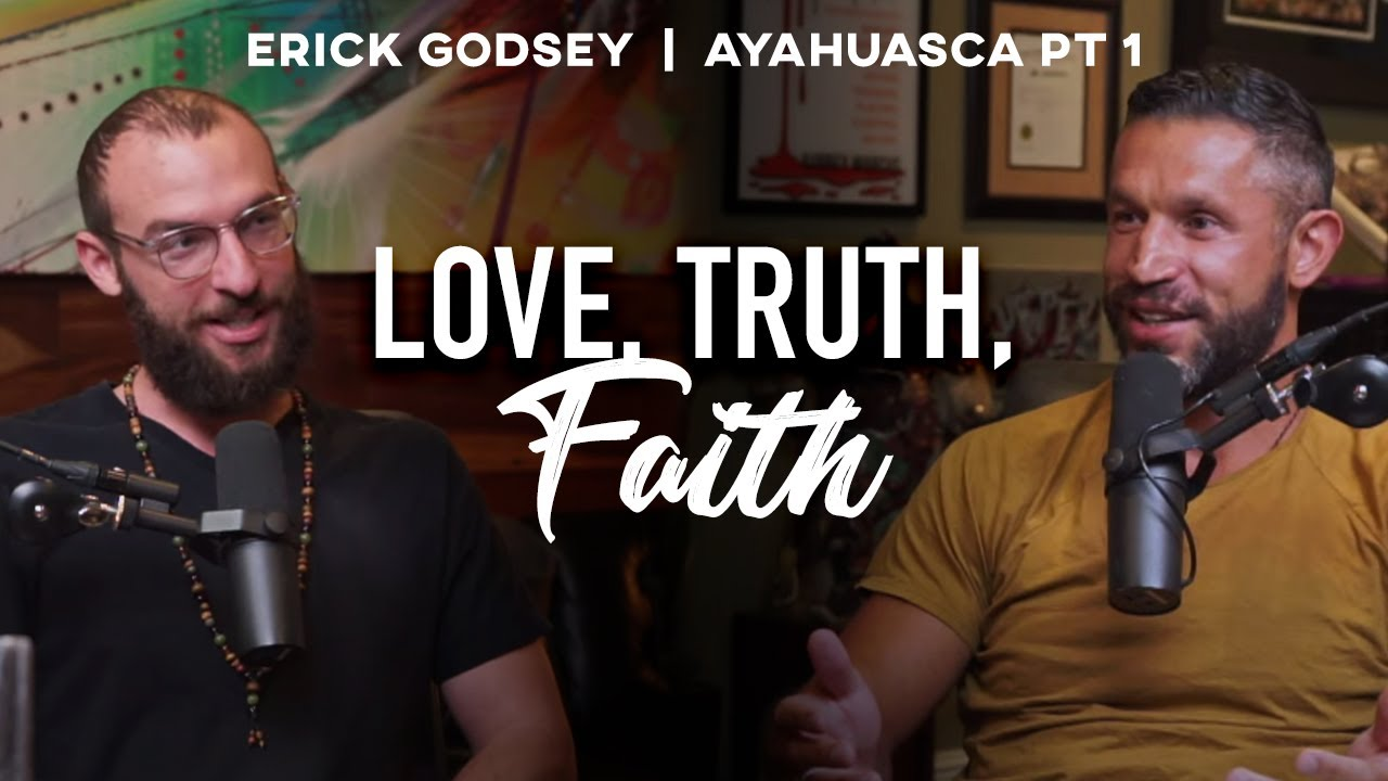 What Ayahuasca Teaches About FIGHTING THE DARKNESS with Erick Godsey | Aubrey Marcus Podcast